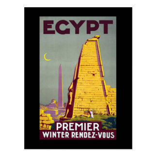 Egypt Premier Winter Rendezvous Postcard