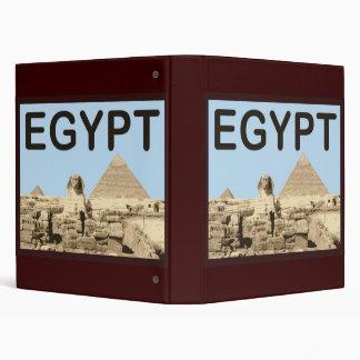 Egypt Pyramid of Khafre 3 Ring Binders