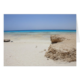 Egypt, Red Sea, Marsa Alam, Sharm El Luli, Beach Card