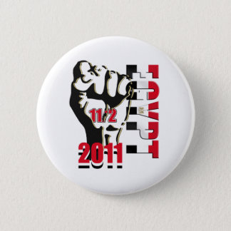 Egypt Revolution Liberation 11th of February 2011 2 Inch Round Button