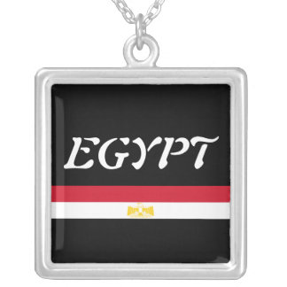 Egypt Silver Plated Necklace