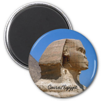 Egypt, Sphinx, Ancient Cairo II (Magnet) Magnet