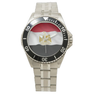 Egypt Stainless Steel Bracelet Wrist Watch
