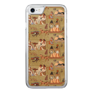 Egypt | Symbols Pattern Carved iPhone 8/7 Case