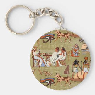 Egypt | Symbols Pattern Keychain