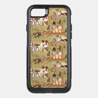 Egypt | Symbols Pattern OtterBox Commuter iPhone 8/7 Case