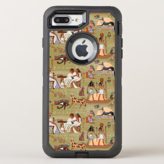 Egypt | Symbols Pattern OtterBox Defender iPhone 8 Plus/7 Plus Case