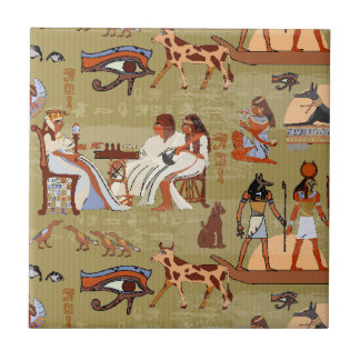 Egypt | Symbols Pattern Tile