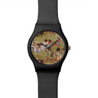 Egypt   Symbols Pattern Watch