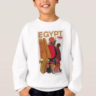 Egypt Vintage Air Travel Ancient Culture Tourism Sweatshirt