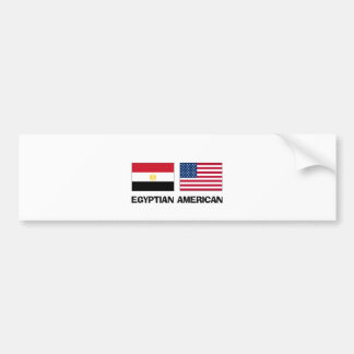 Egyptian American Bumper Sticker