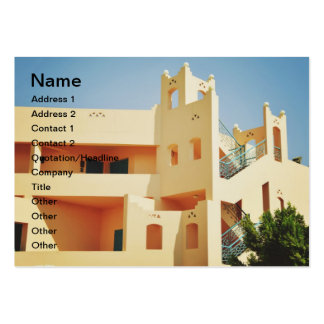 Egyptian architecture business card templates