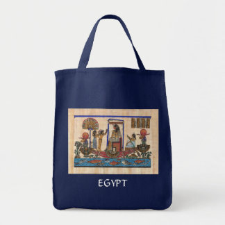 Egyptian Art Tote Bag