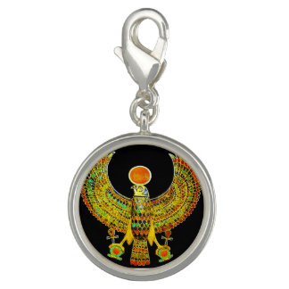 EGYPTIAN BIRD ANKH PHOTO CHARMS