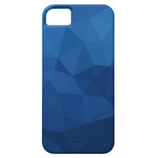 Egyptian Blue Abstract Low Polygon Background Case For The iPhone 5