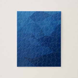 Egyptian Blue Abstract Low Polygon Background Jigsaw Puzzle