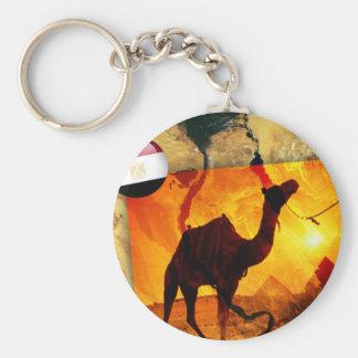 Egyptian camel keychain