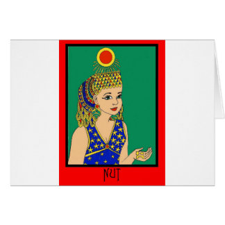 Egyptian Card