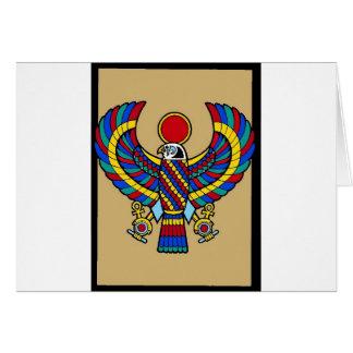 Egyptian Card