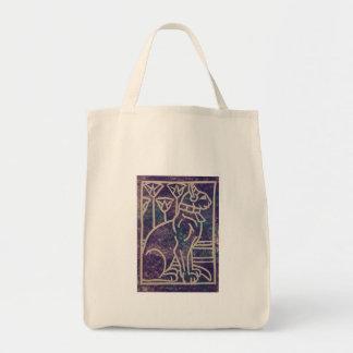 Egyptian Cat Design Tote Bag