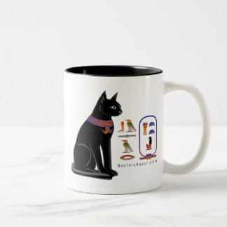 Egyptian Cat Hieroglyphic Mug