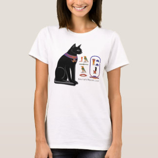 Egyptian Cat Hieroglyphic T-shirt