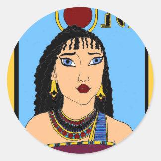 Egyptian Classic Round Sticker