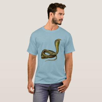 Egyptian Cobra Tee for the Snake Aficionado