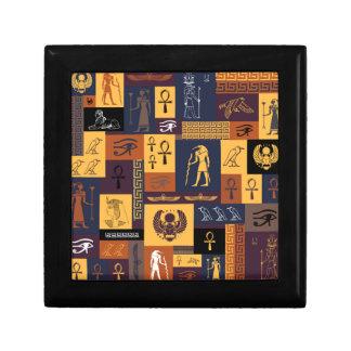Egyptian Collage Gift Box