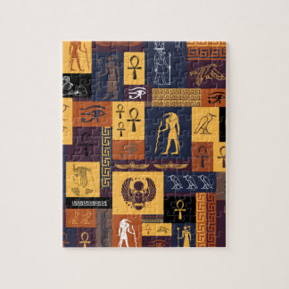 Egyptian Collage Jigsaw Puzzle