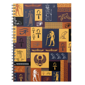 Egyptian Collage Notebook