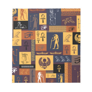 Egyptian Collage Notepad