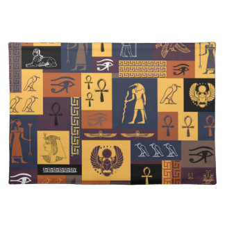 Egyptian Collage Placemat