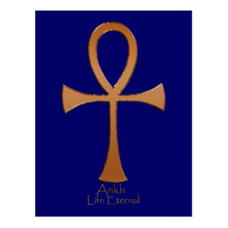 Egyptian Copper ANKH Postcard