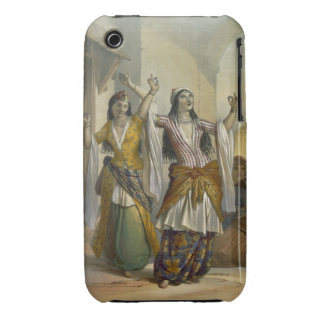 Egyptian Dancing Girls Performing the Ghawazi at R iPhone 3 Case-Mate Cases