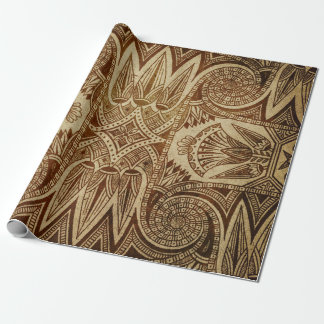 Egyptian Design Gift Wrapping Paper
