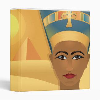 egyptian design notebook binder