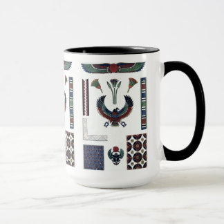 Egyptian Design Sampler mug