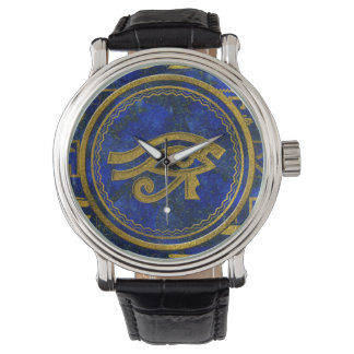 Egyptian Eye of Horus - Wadjet Lapis Lazuli Watch
