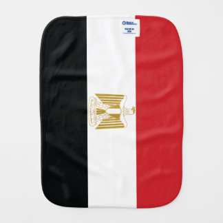 EGYPTIAN FLAG BURP CLOTH