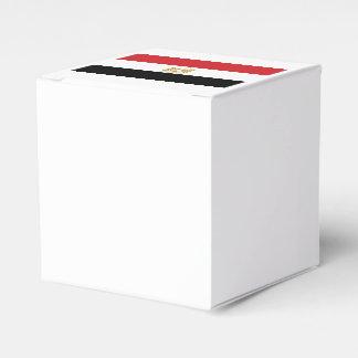 EGYPTIAN FLAG FAVOR BOX
