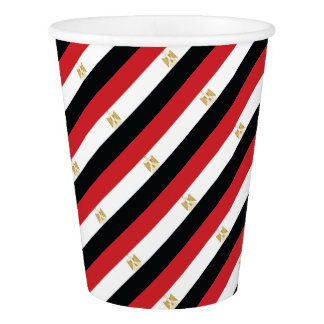 EGYPTIAN FLAG PAPER CUP
