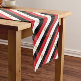 EGYPTIAN FLAG SHORT TABLE RUNNER