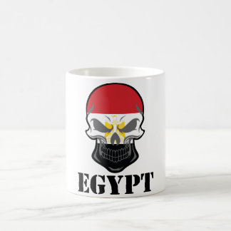 Egyptian Flag Skull Egypt Coffee Mug