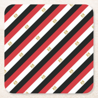 EGYPTIAN FLAG SQUARE PAPER COASTER