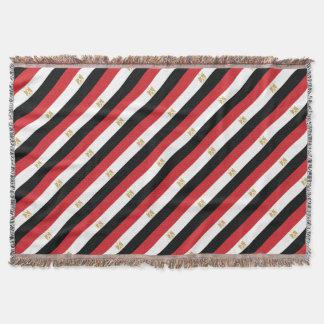 EGYPTIAN FLAG THROW BLANKET