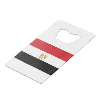 EGYPTIAN FLAG WALLET BOTTLE OPENER