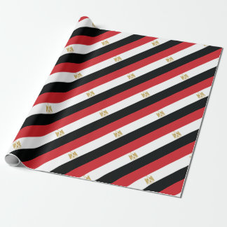 EGYPTIAN FLAG WRAPPING PAPER