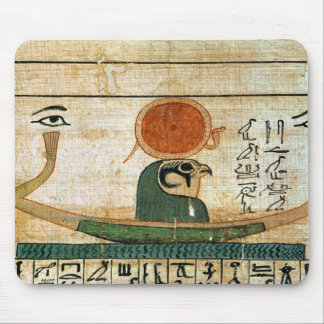 Egyptian funerary papyrus mouse pad