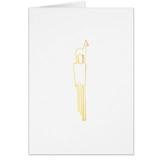 Egyptian Gazelle Comb Card